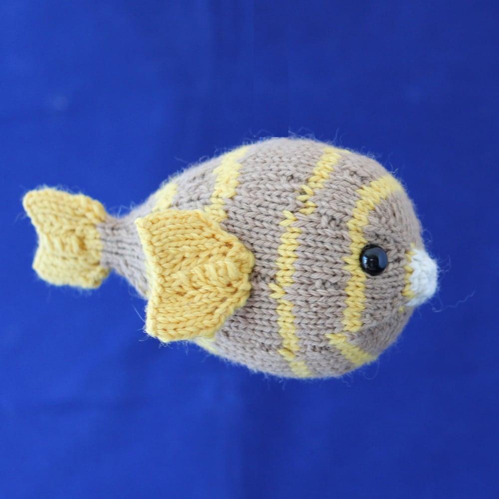 Image of Puffer Fish Knitting Pattern