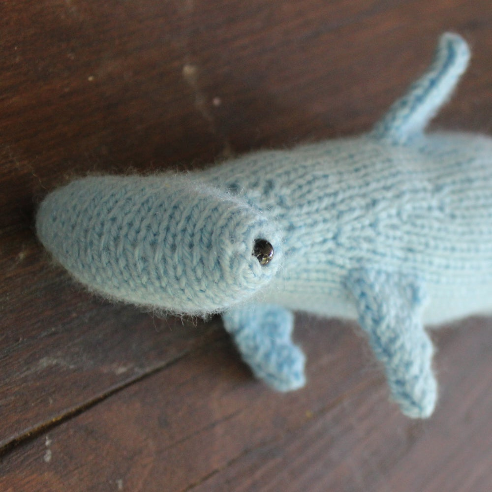 Image of Hammerhead Shark Knitting Pattern