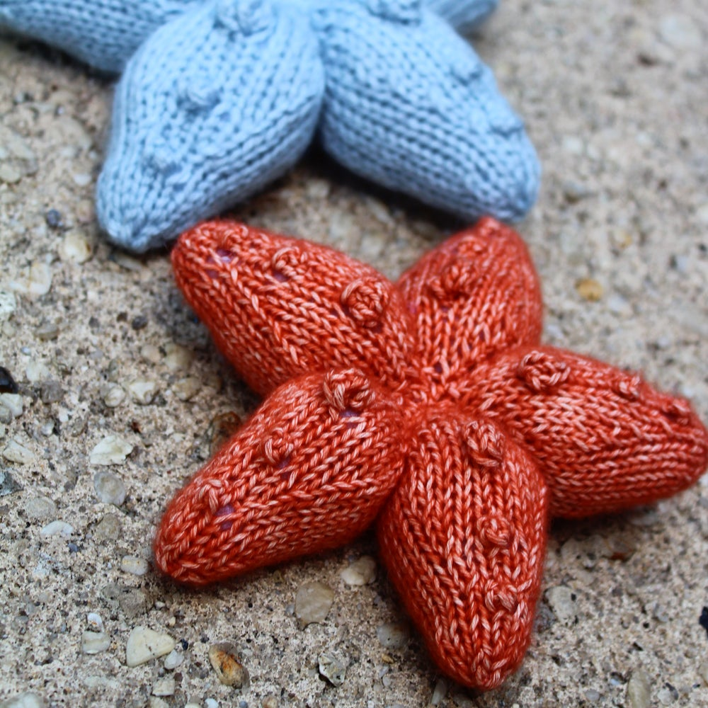 Image of Sea Star Knitting Pattern