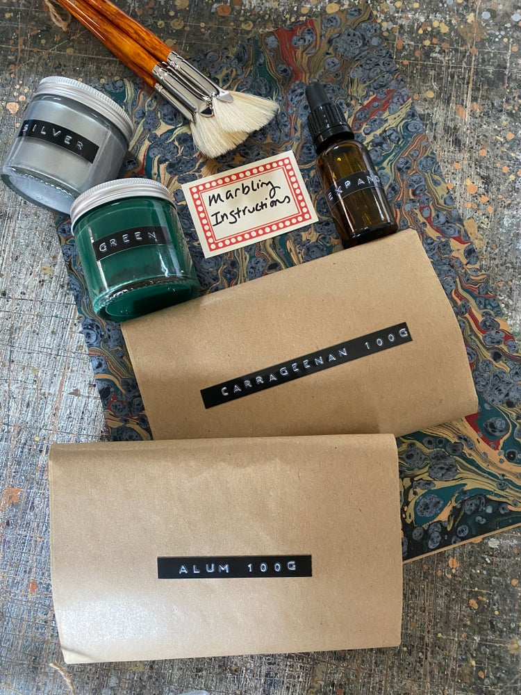 Image of Marbling Provisions - Build your own marbling supplies kit (UK ONLY LISTING)