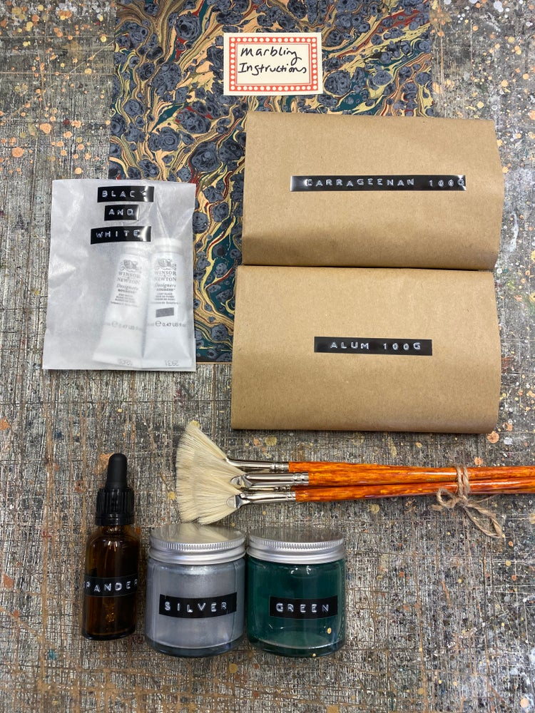 Image of *NEW* Marbling Provisions - Build your own marbling supplies kit (INTERNATIONAL LISTING)