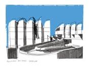 Image of Bauhaus Archiv - Fine Art Giclee