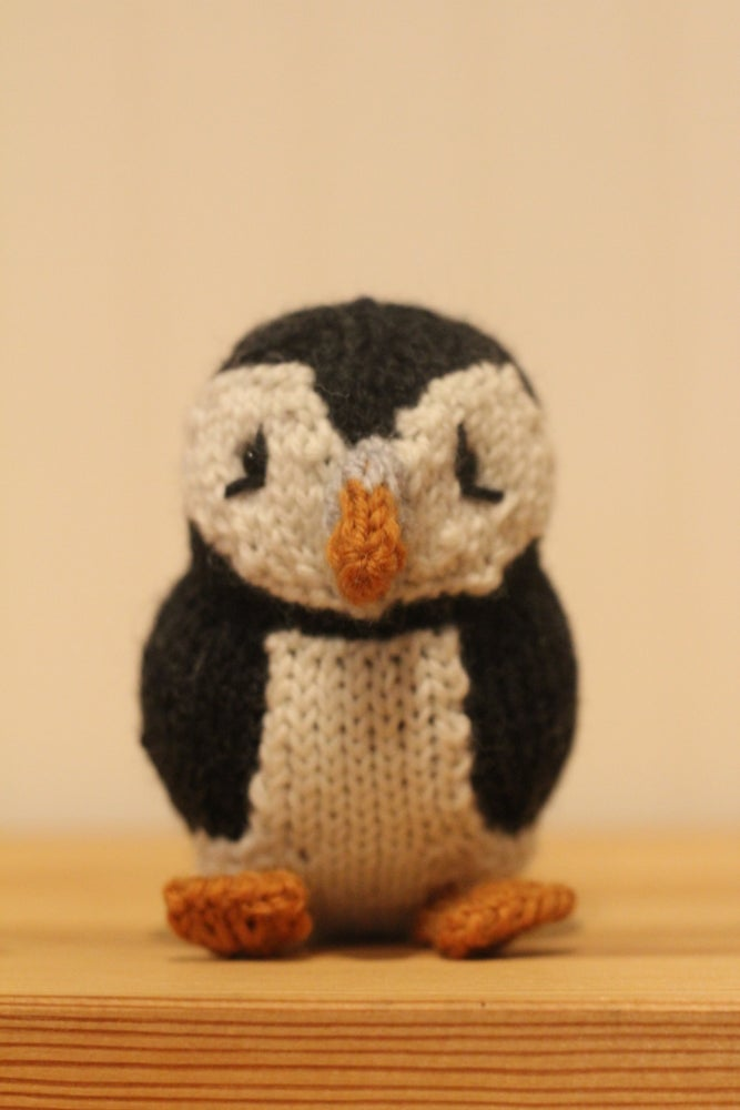 Image of Arctic Puffin Knitting Pattern