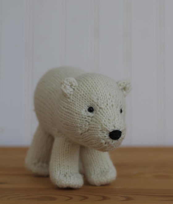 Image of Polar Bear Knitting Pattern