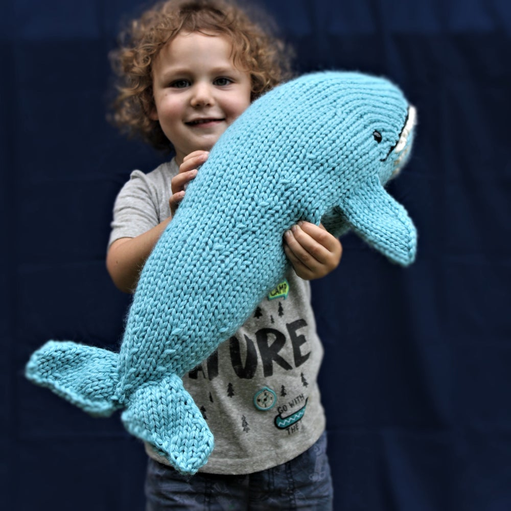 Image of Blue Whale Knitting Pattern