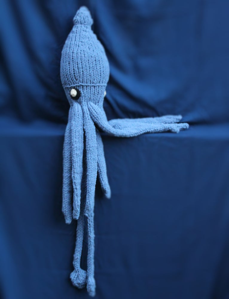 Image of Giant Squid Knitting Pattern