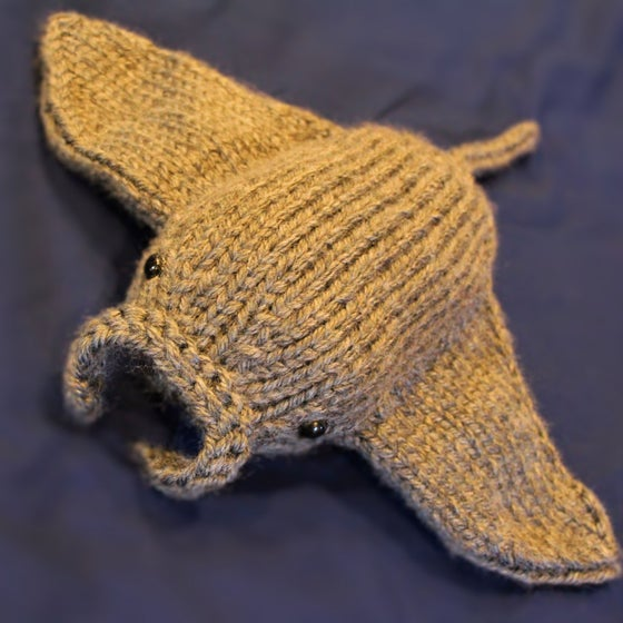 Image of Manta Ray Knitting Pattern