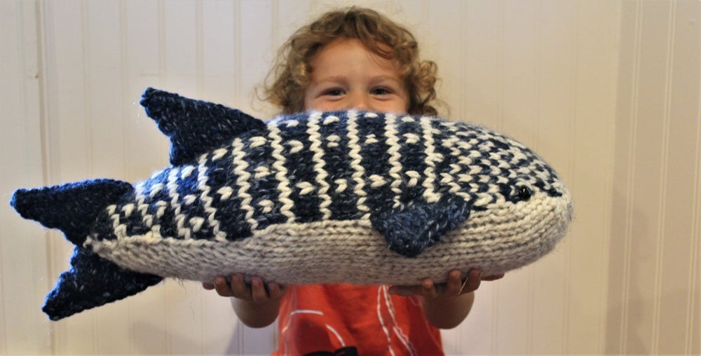 Image of Whale Shark Knitting Pattern