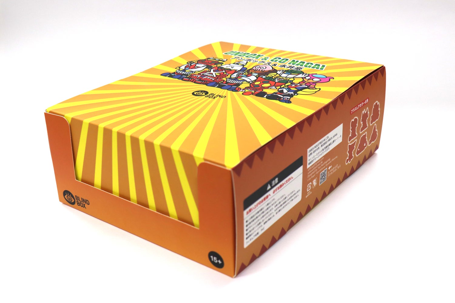 Image of GO NAGAI X UNBOX BLIND BOX TRAY