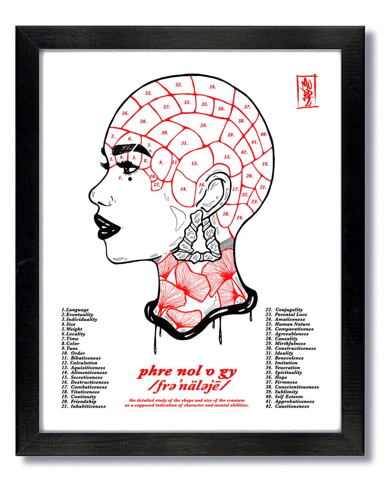 Image of Phre·nol·o·gy (16 x 20 Print/Unframed)