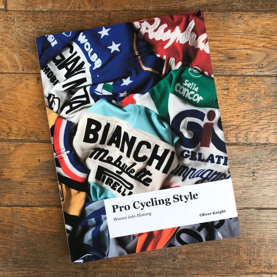 Image of 'Pro Cycling Style - Woven Into History' Hardback Book