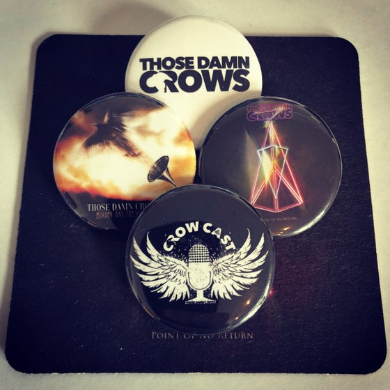 Image of Those Damn Crows Badges