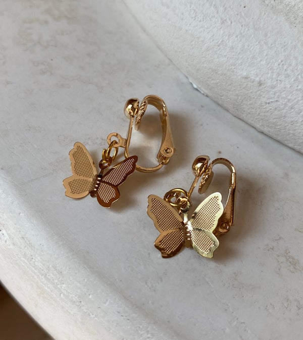 Image of clip on butterflies