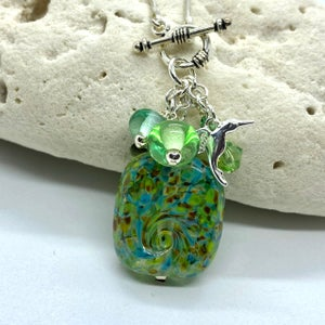 Image of Spring Rain Toggle Necklace