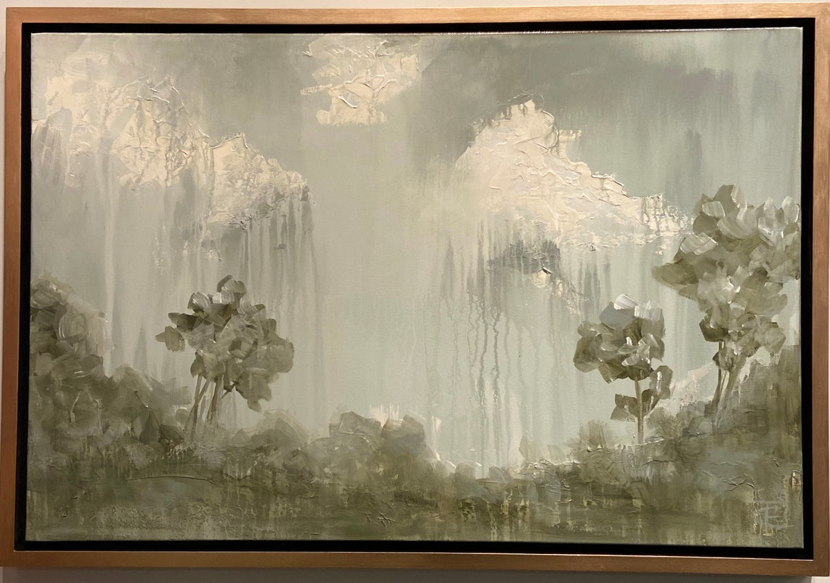 Image of ABSTRACT TREE LANDSCAPE 36x24