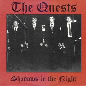 "Image of 7"".  The Quests : Shadows In The Night.  Ltd edition clear vinyl."