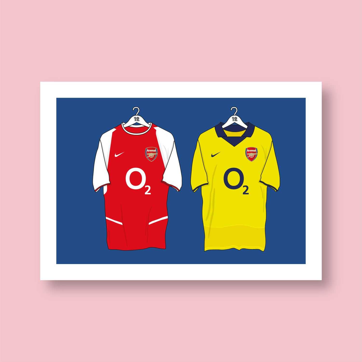 Image of Arsenal Invincibles Shirt Print