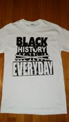 Black History Everyday Tee - White/Black