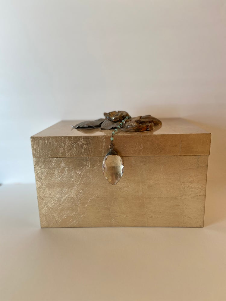 Image of DECORATIVE GILDED BOX