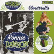 "Image of 7"". Ronnie Dawson : Slenderella.   Ltd edition"