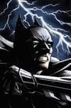A Dark Knight in the Storm Print