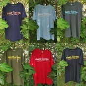 Image of Roots Garden 'dubwise since 1995' T-shirts , Hand screen printed (various colours/fair trade)
