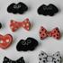 Handmade Clay Pins! Bats n Bows Image 2