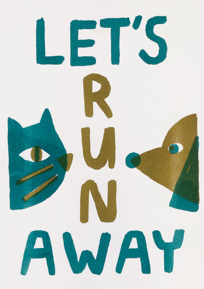 Image of Let's run away