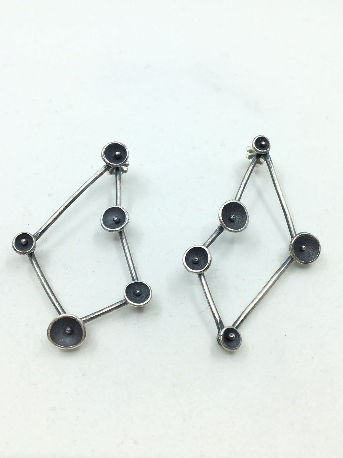 """Constellation"" Earrings by Lisa Colby"