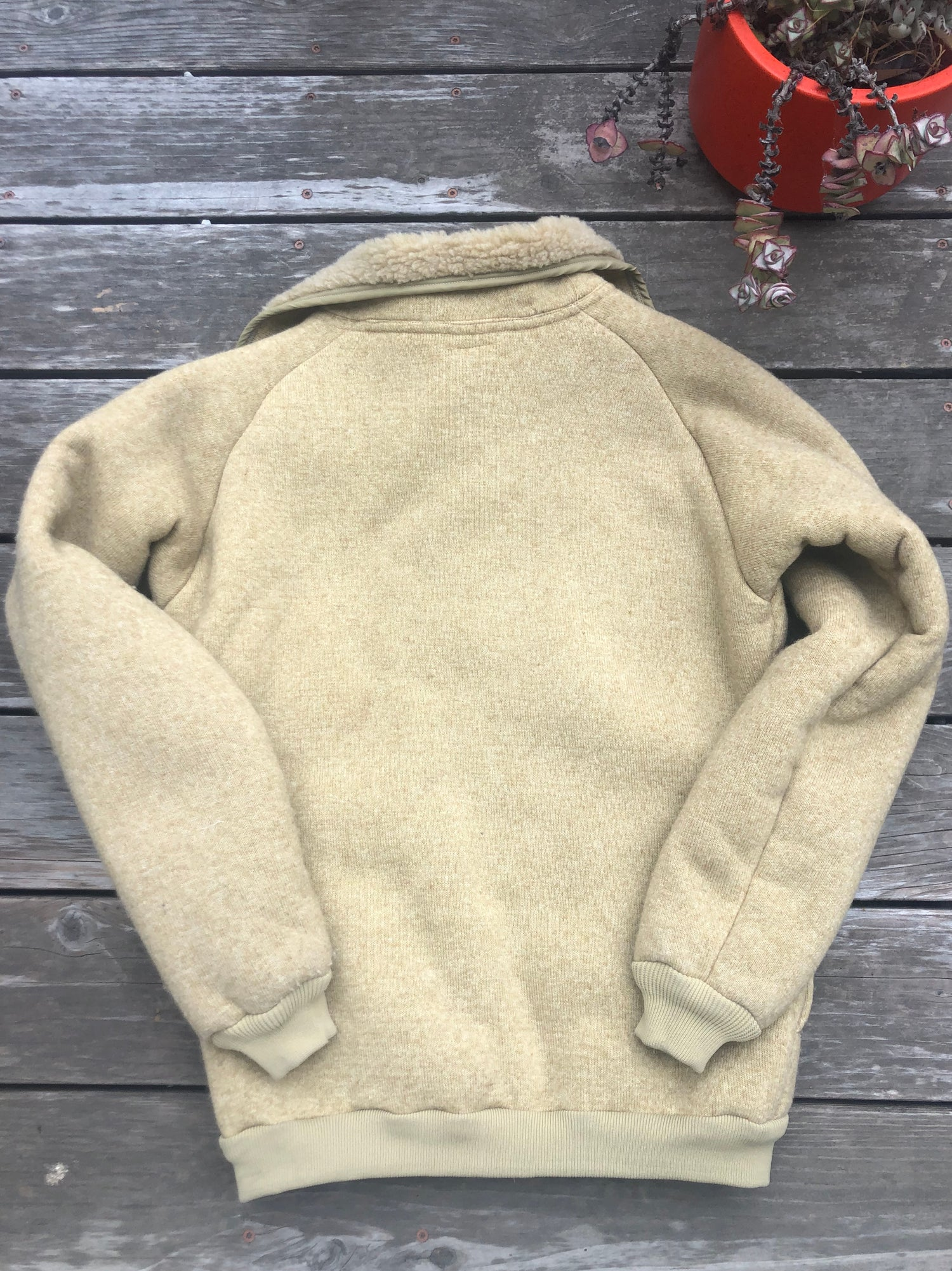 Image of 1970's Mens Vintage Patagonia Pile Jacket Small