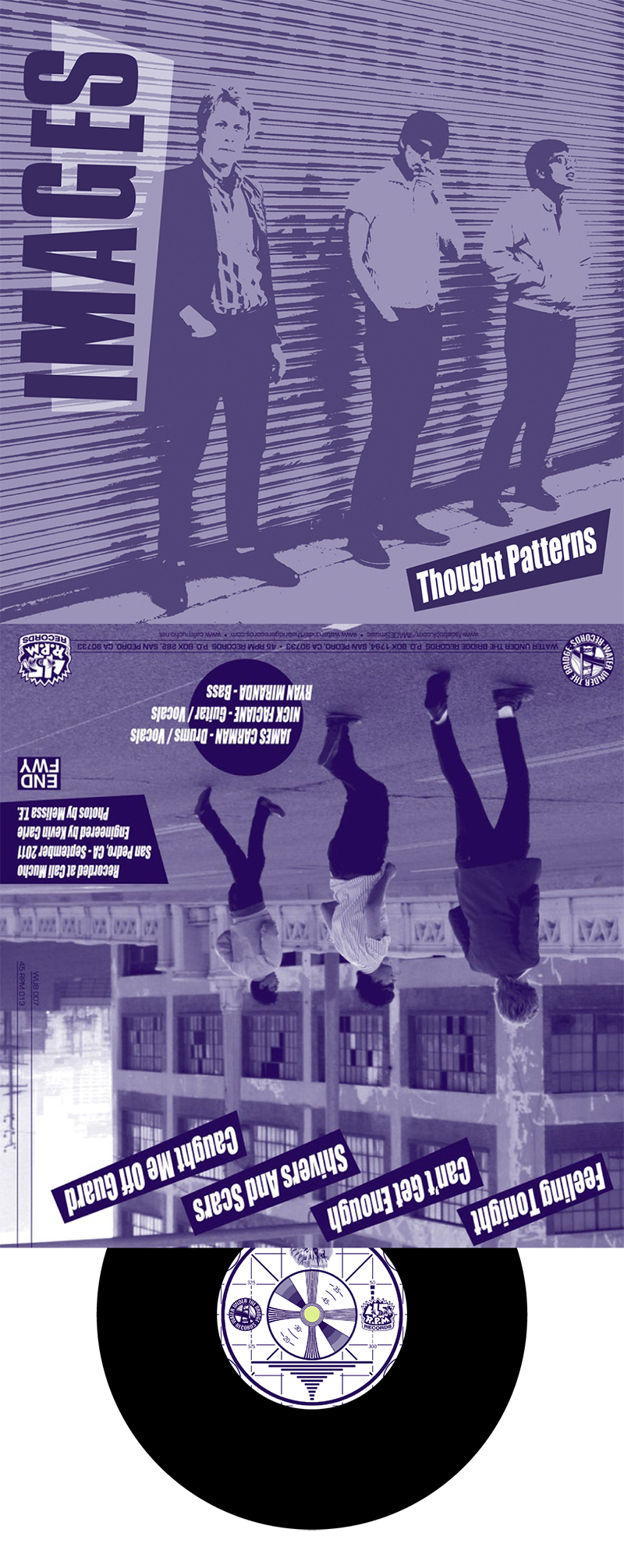 """IMAGES - Thought Patterns → 7"""" ep"""