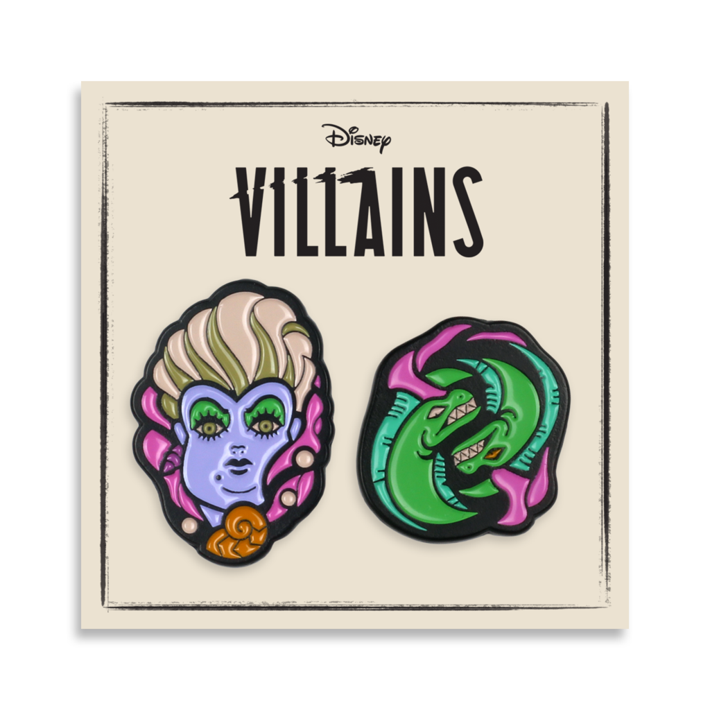 Image of The Little Mermaid - Ursula - 2-Pin Set