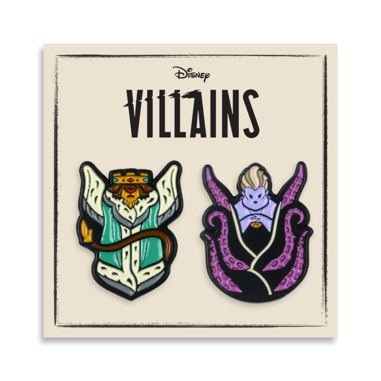 Image of Villains - 2-Pin Set