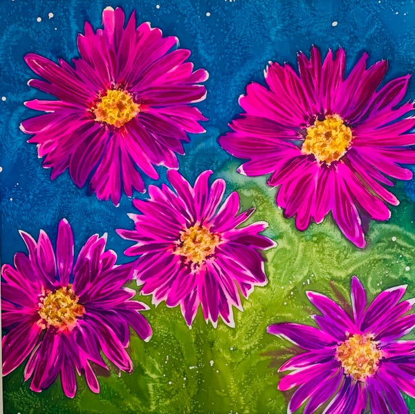 Image of Painted Daisies