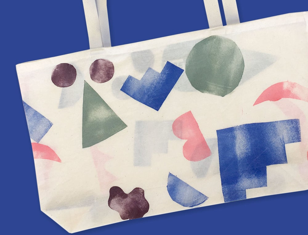 Image of COLOR SHAPES BAG / screenpaint