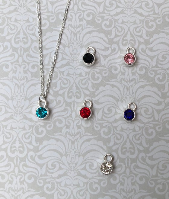 Image of Mini stone necklace or bracelet - 6 colours