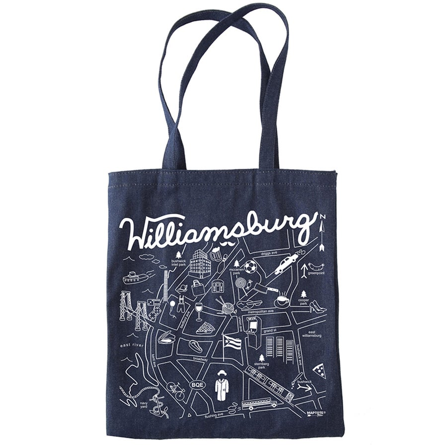 Image of Brooklyn Denim Tote