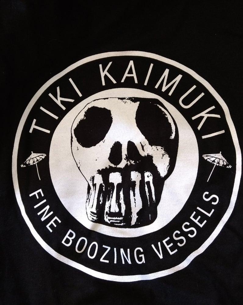 "Image of Original Classic ""Fine Boozing Vessels"" Logo shirt"