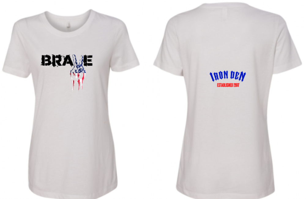 Brave Shirt Womens- White