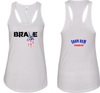 "White ""Brave"" Tank"