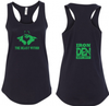 The Beast Within Tank Womens -Black
