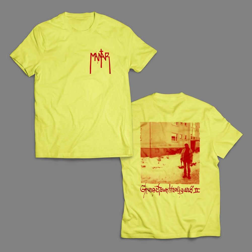 "Image of Shirt ""Grungetown Hooligans II"" Yellow"