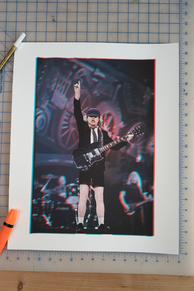 Image of ANGUS YOUNG AC/DC