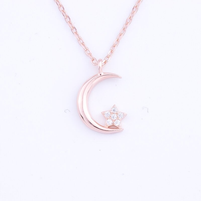 Petite Crescent Moon (925 Silver)