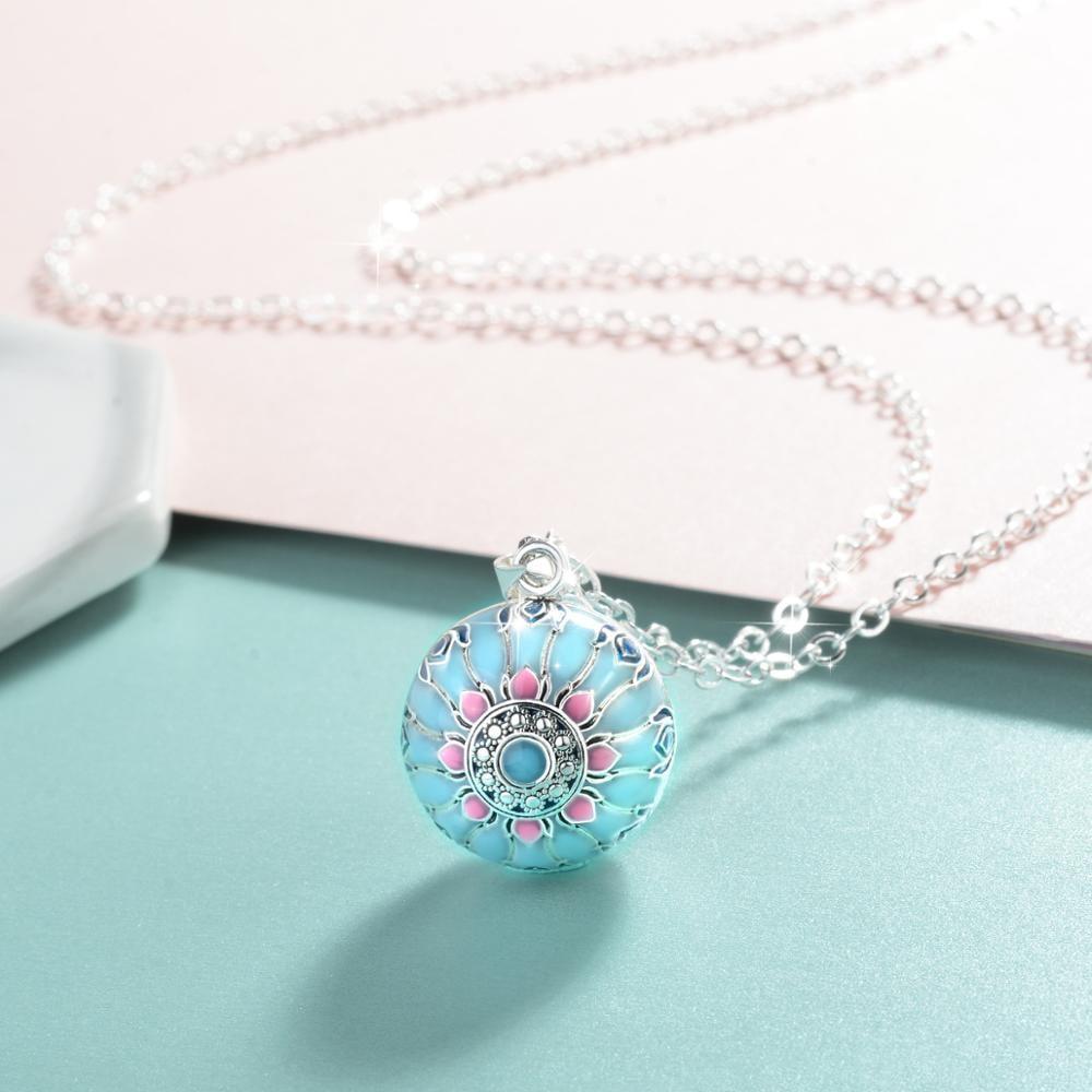 Blue Pink Lotus Harmony Ball