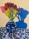 More Tulips in Bud Vase