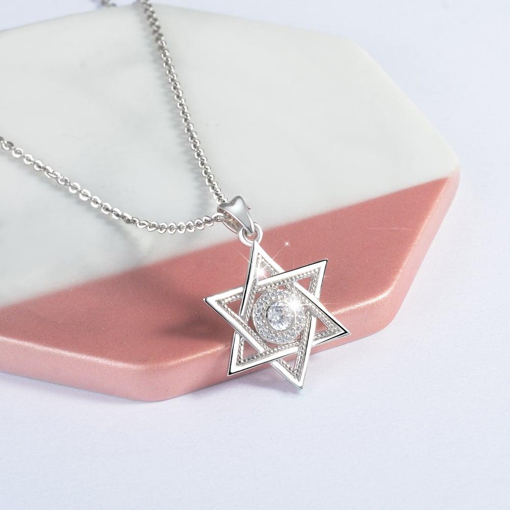 Star of David (925 Sterling Silver)