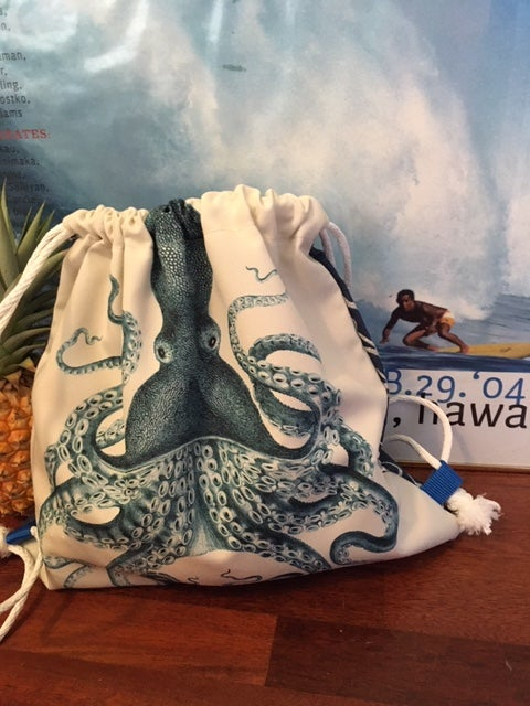 Drawstring Back Pack Tako