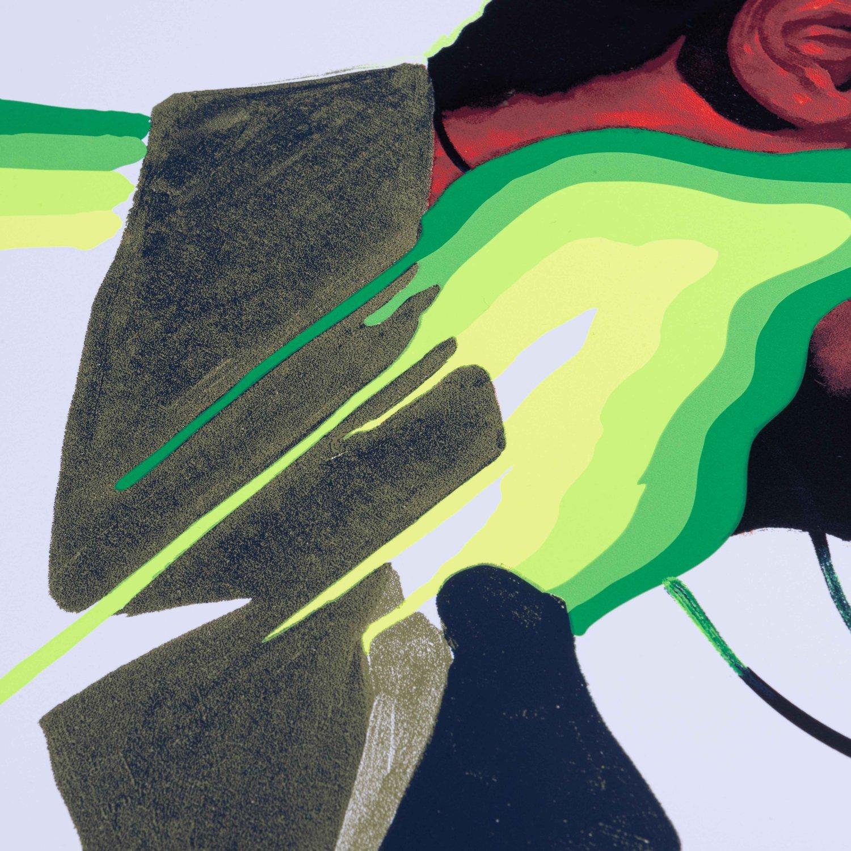 "Image of Max Sansing + Enstrumental: ""DARE TO WIN"" Print - Variant Edition"