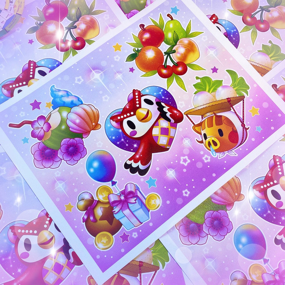 Image of 'Animal Crossing' Print